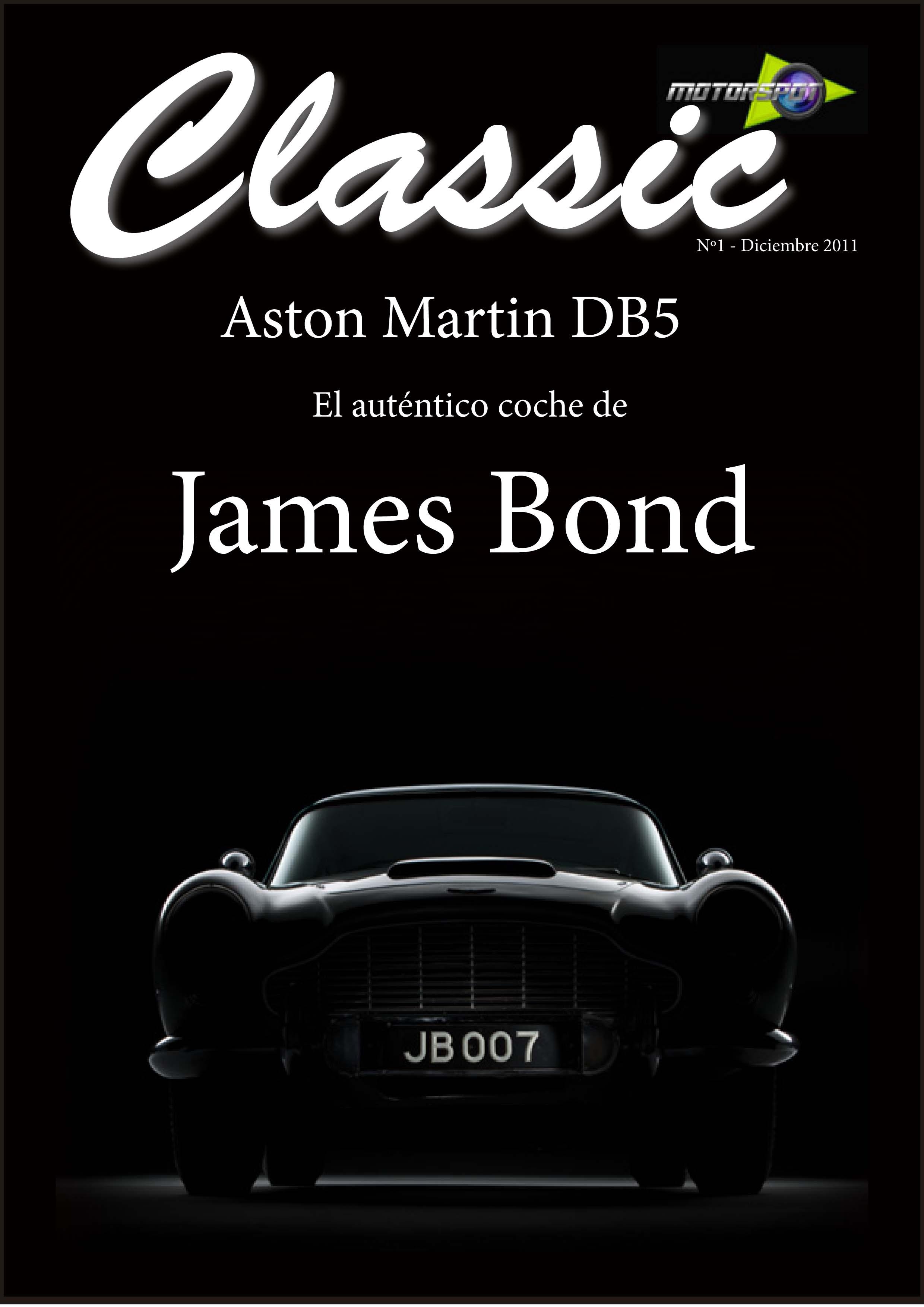 Motorspot Classic. Aston Martin DB5 James Bond